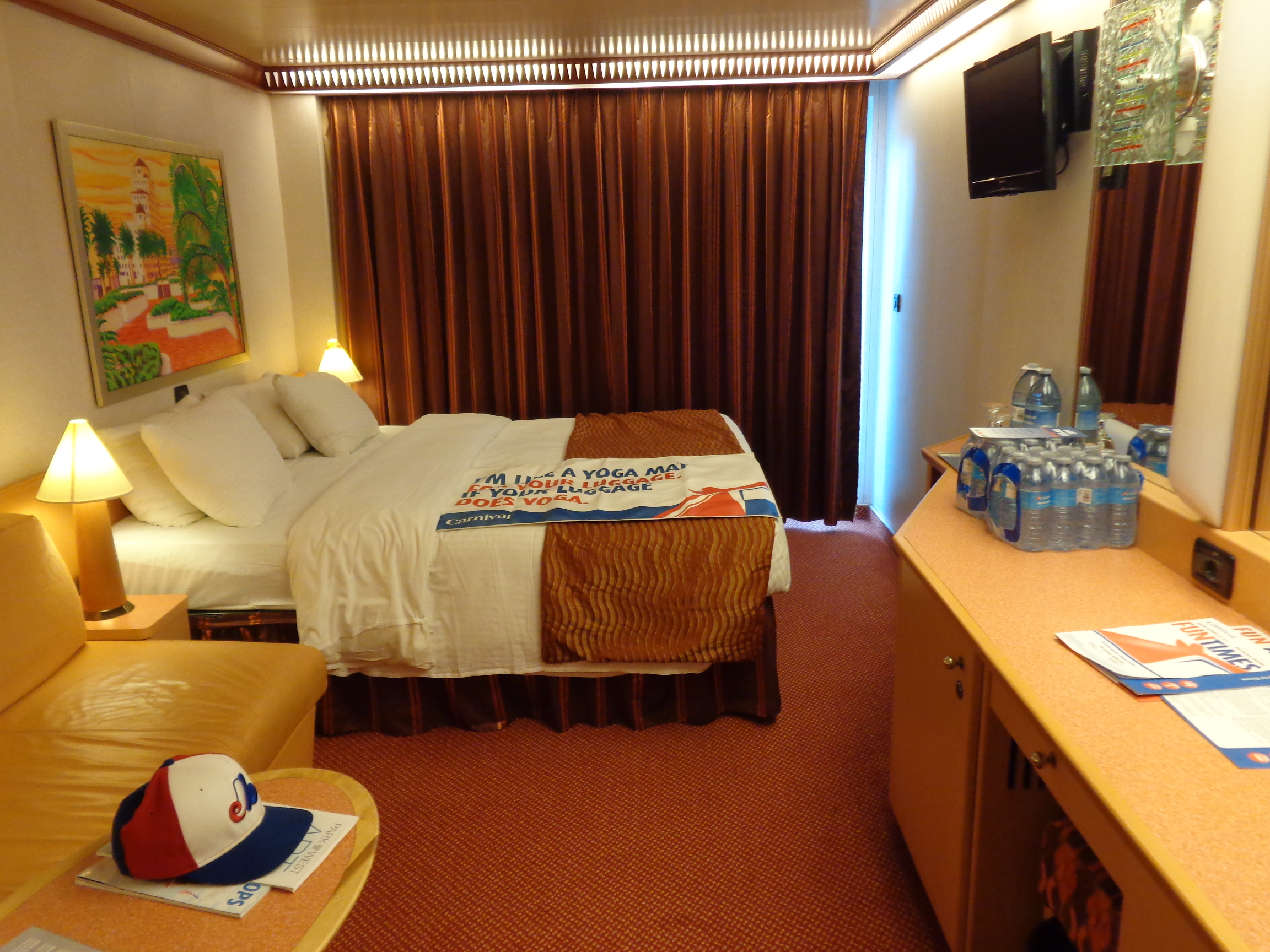 Carnival Dream Room 8434 Long Weekend Wanderlust